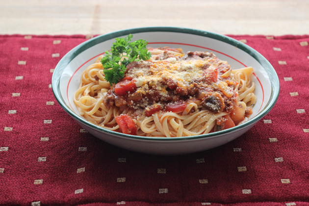 Bolognese Sauce With Chunky Veg | Homespuncafe