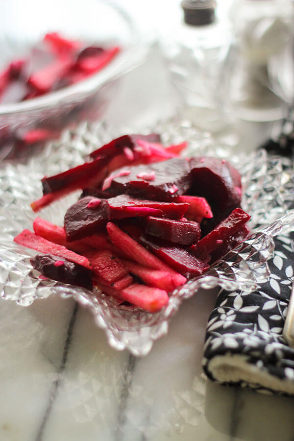 Roasted Beet Apple Salad