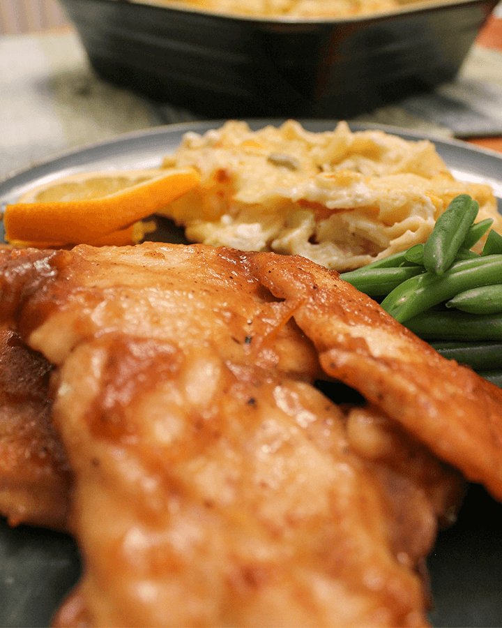 Orange Marmelade Chicken